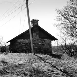 Primary view of object titled '[Matador Ranch Old Stone Bunkhouse]'.