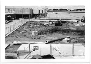 Primary view of object titled 'Construction Area and Mud Pit'.