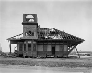 Primary view of object titled '[Railroad Station]'.