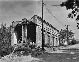 Primary view of object titled '[Nestor Saenz Building, (Southeast corner)]'.