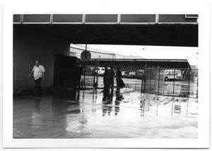 Primary view of object titled 'Workers at Airport'.