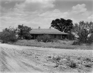 Primary view of object titled '[Fort McKavett Historic District Headquarters]'.