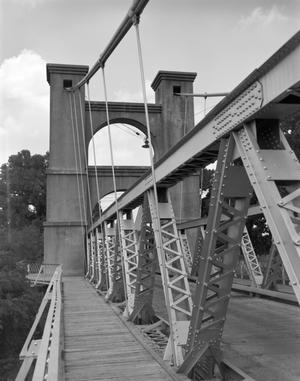 Primary view of object titled '[Waco Suspension Bridge]'.