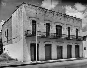 Primary view of object titled '[C. Solis House / Store, (Southwest oblique)]'.