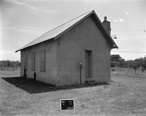 Primary view of object titled '[Art School House, (Northeast oblique)]'.