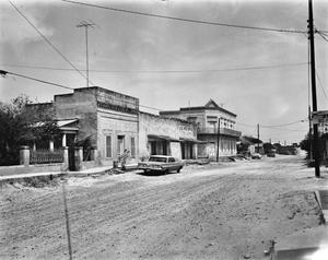 Primary view of object titled '[Roma Historic District, (Looking Northwest)]'.