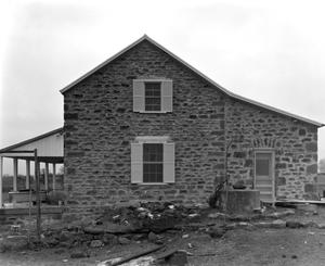 Primary view of object titled '[Hasse House, (North elevation)]'.