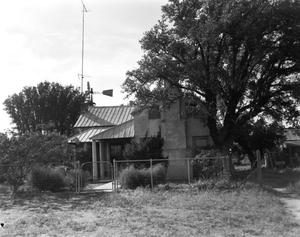 Primary view of object titled '[Frank Loeffler House, (West)]'.