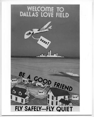 Primary view of object titled '[Dallas Love Field Airport : Airport Promotion Material]'.