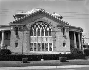 Primary view of object titled '[First Baptist Church]'.