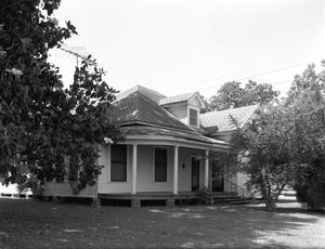 Primary view of object titled '[Berry House, (E-North oblique)]'.