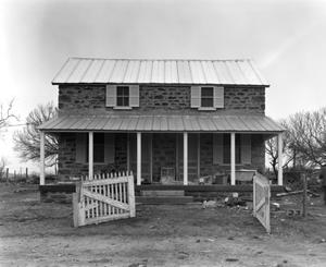 Primary view of object titled '[Hasse House, (East elevation)]'.