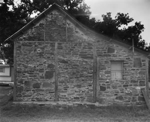 Primary view of object titled '[Major Henry Marcus Jones House, (East elevation)]'.