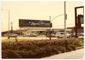 Primary view of object titled '[Dallas Love Field Airport : Muse Air Billboard Advertisement]'.