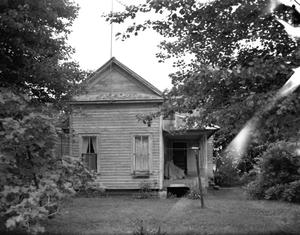 Primary view of object titled '[John Young House, (South facade)]'.