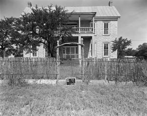 Primary view of object titled '[Block House Ranch, (East elevation)]'.