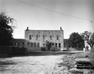 Primary view of object titled '[Old Medina County Courthouse, (East elevation)]'.