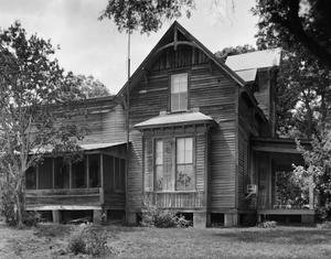 Primary view of object titled '[Richardson House, (South facade)]'.