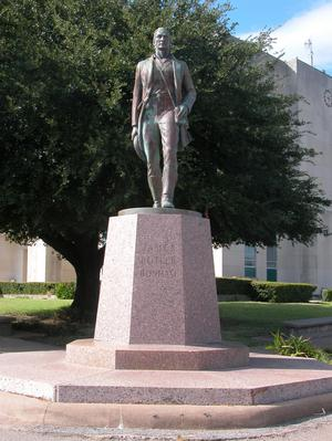 James Butler Bonham statue