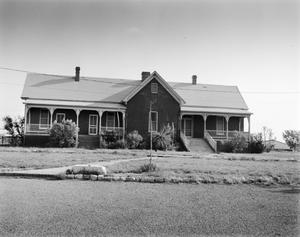 Primary view of object titled '[Old Hospital, (North elevation)]'.