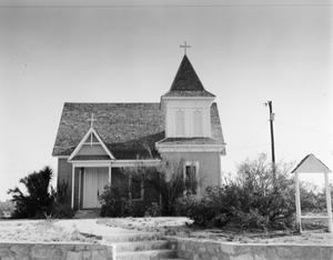 Primary view of object titled '[Saint Stephen's Episcopal Church, (South elevation)]'.