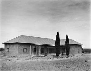 Primary view of object titled '[Natividad Vasquez Residence]'.