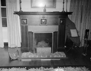 Primary view of object titled '[S. Blount House, (Interior)]'.
