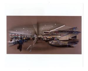 Primary view of object titled '[Dallas Love Field Airport : Baggage Claim Area]'.