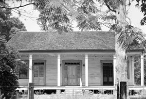 Primary view of object titled '[Gillard-Welder Home, (East (front) elevation)]'.