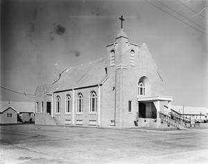 Primary view of object titled '[Saint Mary's Catholic Church]'.