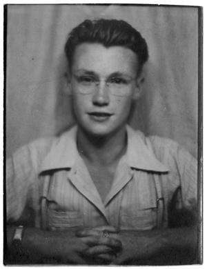 Primary view of object titled '[James Edgar Sutherlin - 1941, 16 years old]'.