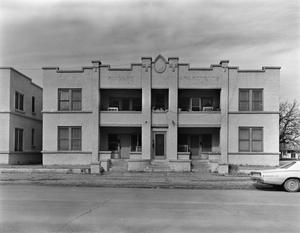 Primary view of object titled '[Finaberg Apartments, (Facade)]'.