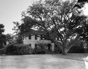 Primary view of object titled '[Old Schreiner House, (Northeast oblique)]'.