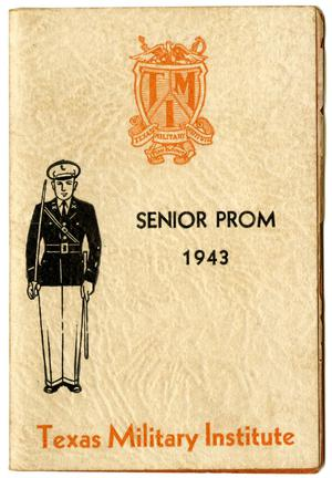 Primary view of object titled '[Texas Military Institute Senior Prom, 1943 Booklet]'.