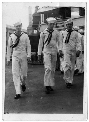 [James Edgar Sutherlin and Two Sailors]