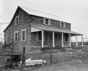 Primary view of object titled '[Hasse House, (Southeast oblique)]'.