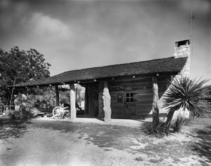 Primary view of [First School House, (East elevation)]