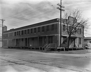 Primary view of object titled '[Ganey Peanut Company, (Facade and side elevation)]'.