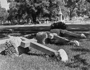 Primary view of object titled '[Cemetery - Brown Family]'.