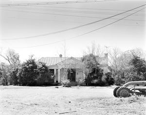 Primary view of object titled '[Miley House, (Front elevation)]'.