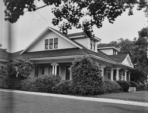 Primary view of object titled '[Koch-Duson House, (East oblique)]'.