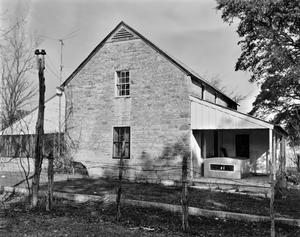 Primary view of object titled '[Fritz Lindig House, (Southwest oblique of main house)]'.