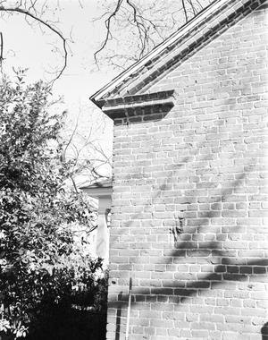 Primary view of object titled '[Joe Jung House, (Construction detail)]'.