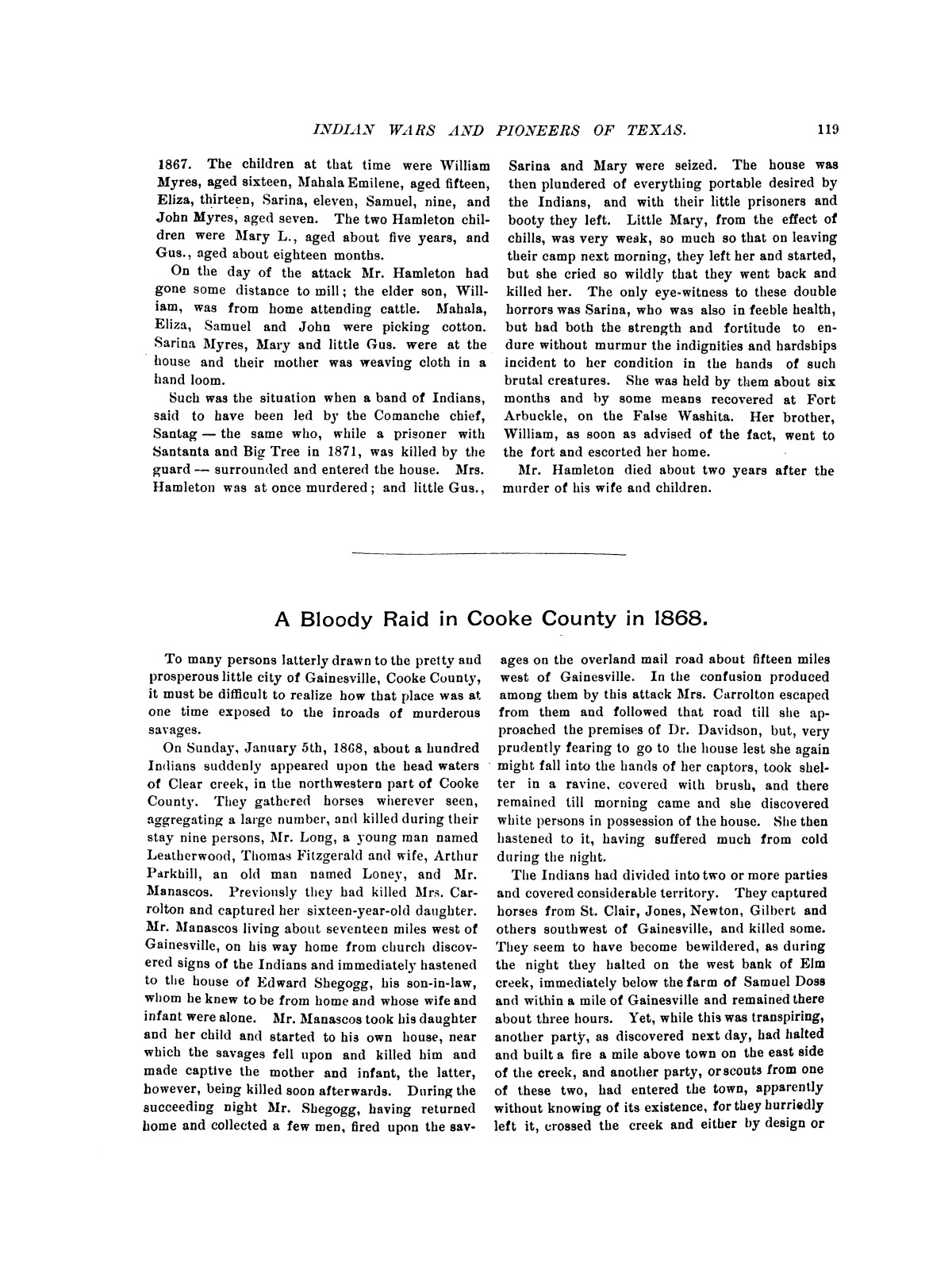 Indian wars and pioneers of Texas / by John Henry Brown.                                                                                                      [Sequence #]: 131 of 894