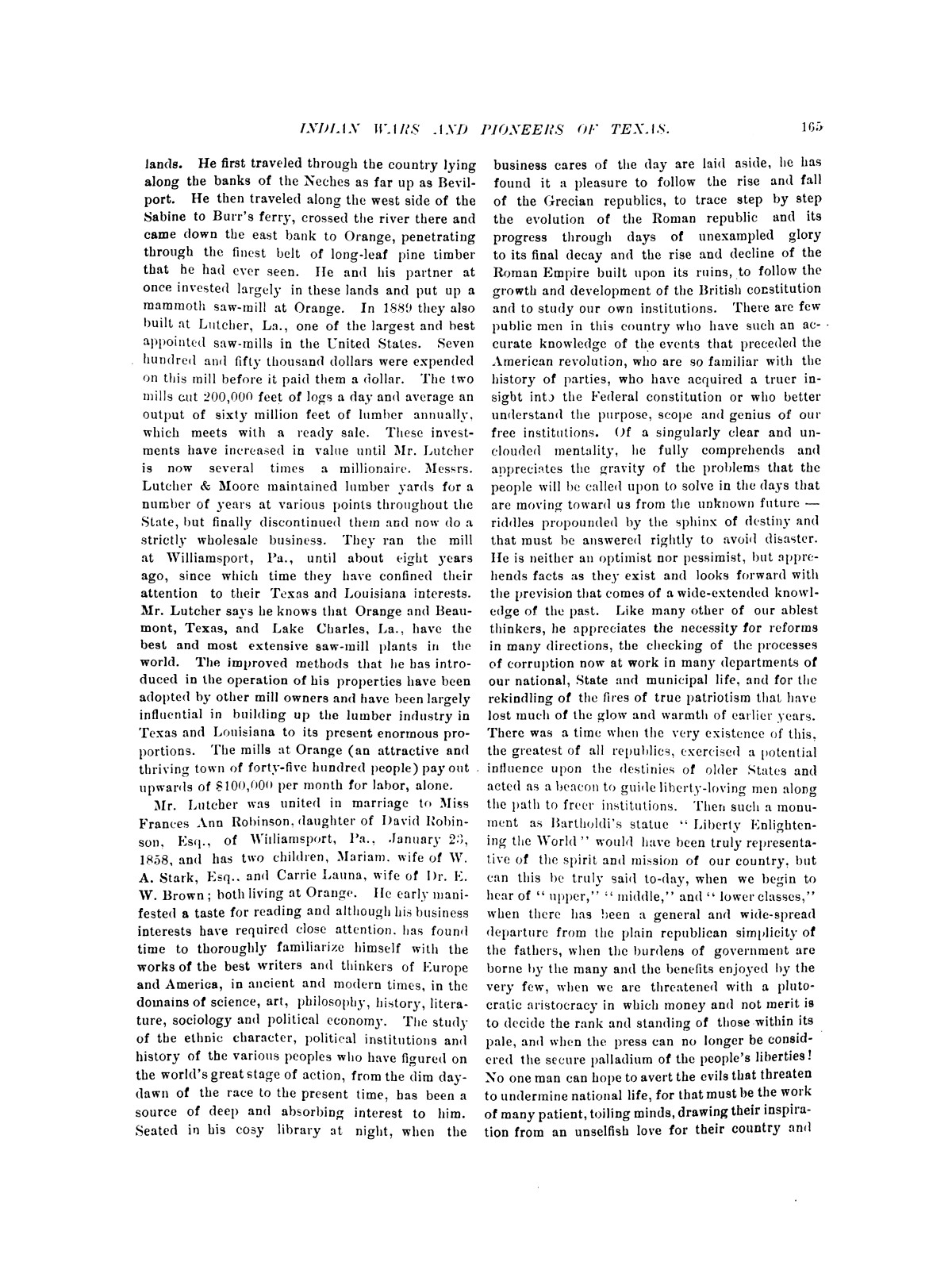 Indian wars and pioneers of Texas / by John Henry Brown.                                                                                                      [Sequence #]: 181 of 894