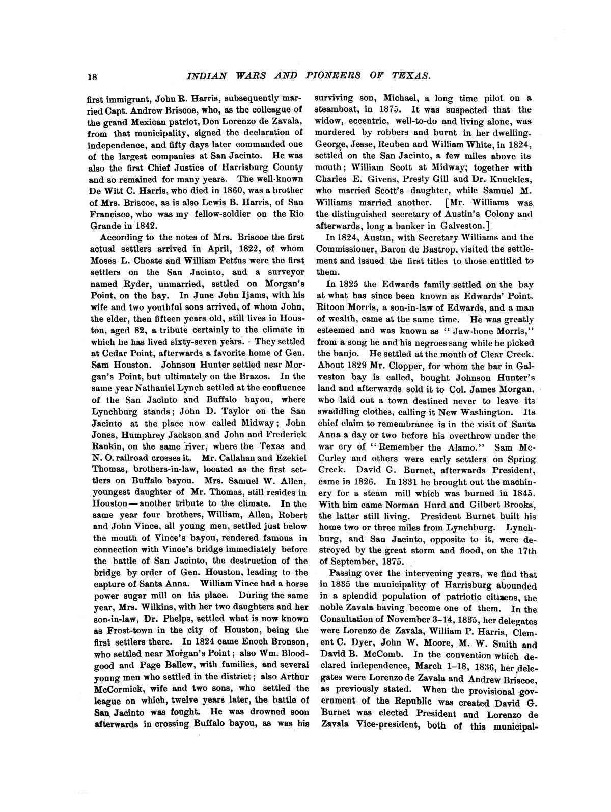 Indian wars and pioneers of Texas / by John Henry Brown.                                                                                                      [Sequence #]: 24 of 894