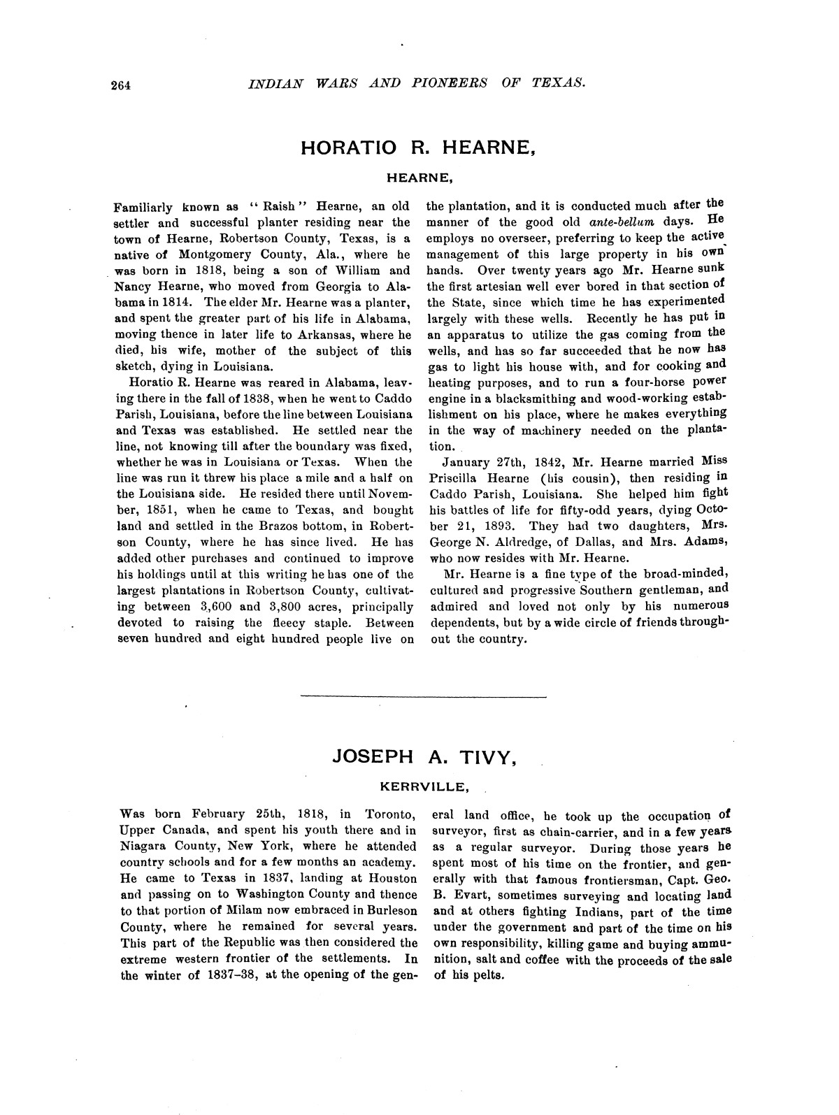 Indian wars and pioneers of Texas / by John Henry Brown.                                                                                                      [Sequence #]: 305 of 894