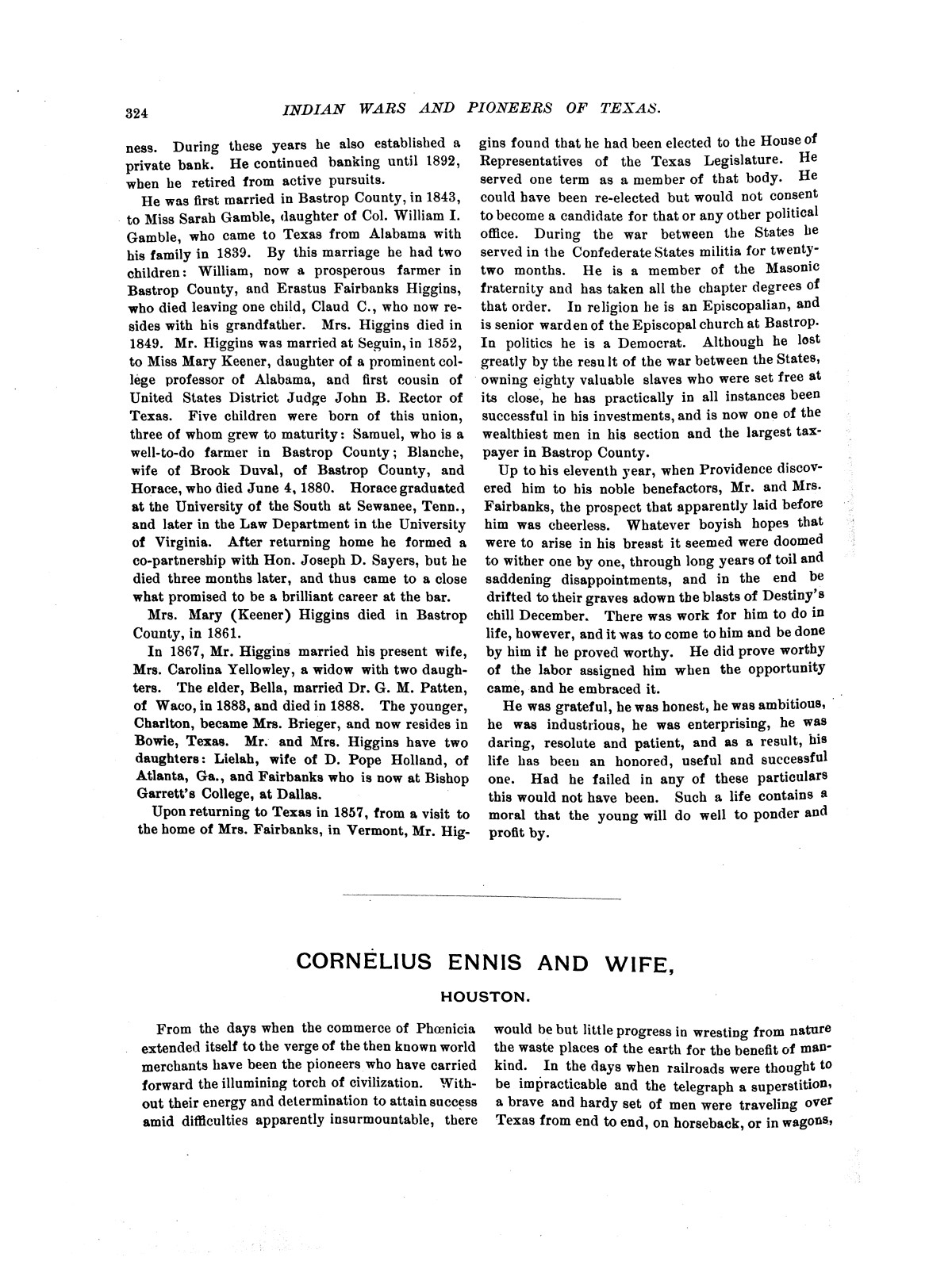 Indian wars and pioneers of Texas / by John Henry Brown.                                                                                                      [Sequence #]: 384 of 894