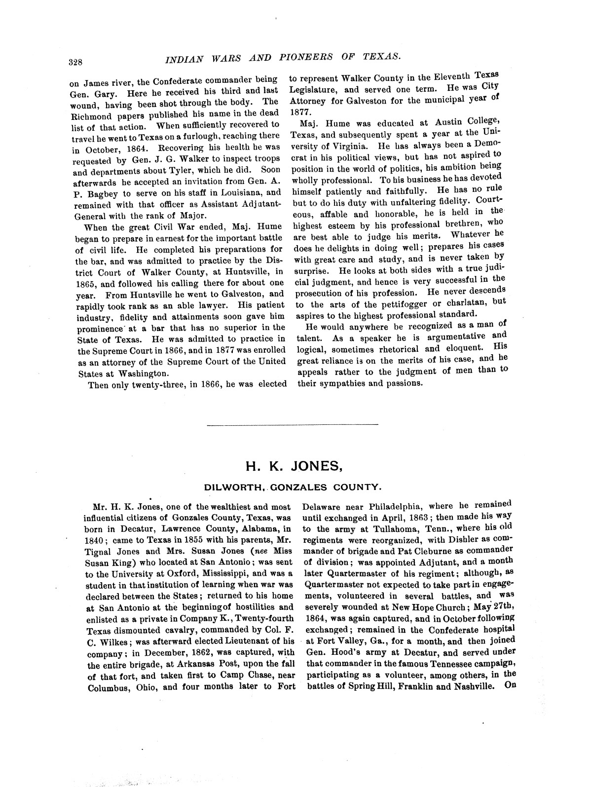 Indian wars and pioneers of Texas / by John Henry Brown.                                                                                                      [Sequence #]: 390 of 894