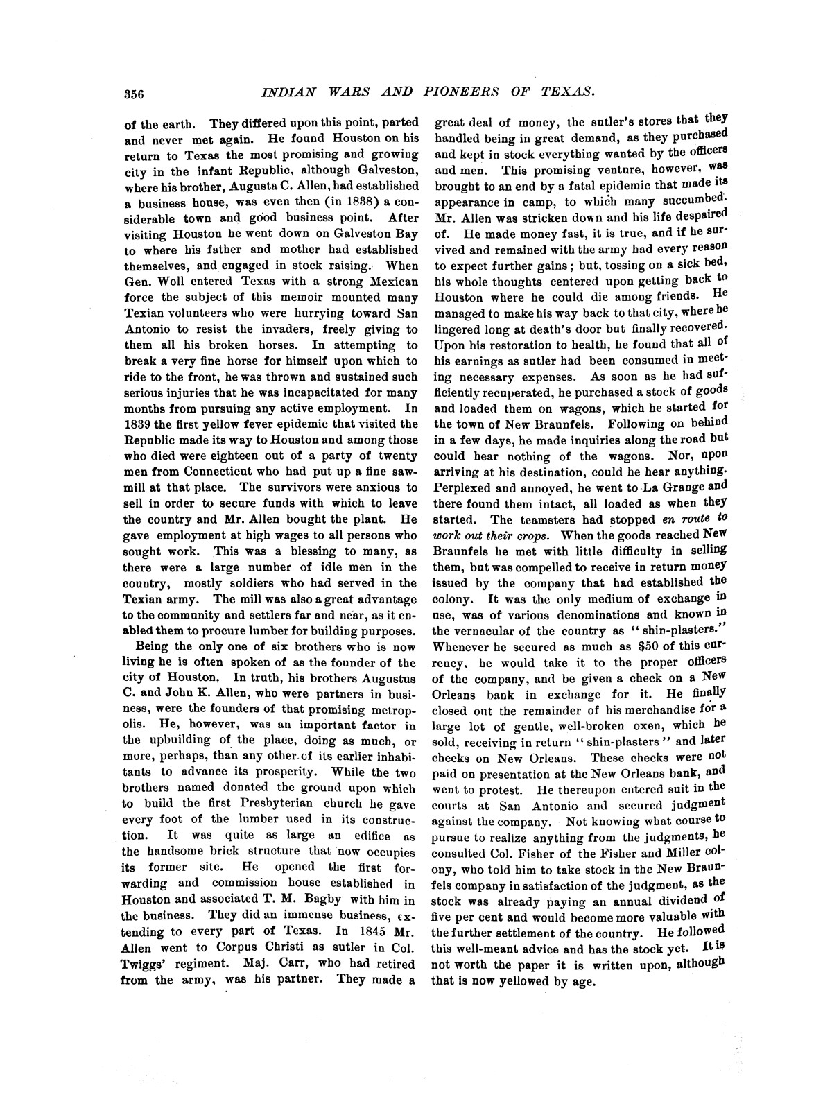 Indian wars and pioneers of Texas / by John Henry Brown.                                                                                                      [Sequence #]: 425 of 894